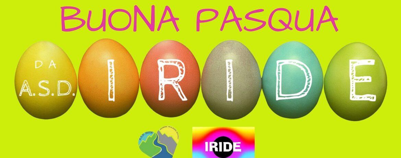 Auguri Buona Pasqua ASD IRIDE Rivoli