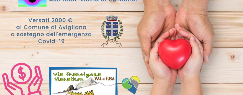 """Come partecipare Chi volesse contribuire con una donazione, può effettuare un bonifico bancario intestato a: COMUNE DI AVIGLIANA – IBAN IT70V0200830050000100072831 (Unicredit) con causale """"COVID-19 – AVIGLIANA PER L'EMERGENZA"""". Avigliana, città solidale Si ringraziano i cittadini per la generosità dimostrata nella partecipazione alla sottoscrizione """"Avigliana per l'emergenza Covid-19"""". Finora sono stati donati circa 9mila e 200 euro. Le risorse serviranno anche a implementare il fondo destinato alla solidarietà alimentare e ad acquistare materiali e dispositivi di protezione per le persone contagiate dal virus, per i famigliari e il personale coinvolto nella gestione dell'emergenza. Oltre alle donazioni materiali, alcuni cittadini si sono resi disponibili a fare volontariato per le necessità legate all'emergenza. Per esempio alcuni hanno telefonato agli over 75 per informarli sul servizio di consegna spesa e farmaci a domicilio in caso di necessità."""