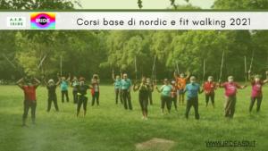 Corsi base di nordic e fit walking - ASD Iride